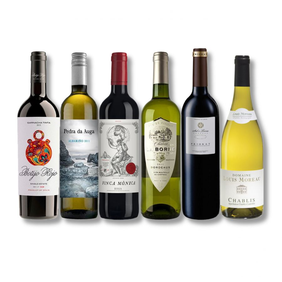Old World Mixed Wine Case (6 x 750ml-14.5%)