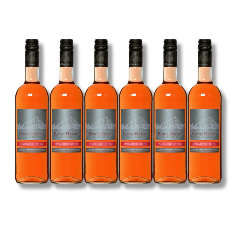 Pacific Heights Zinfandel Blush (6 x 750ml - 11%)