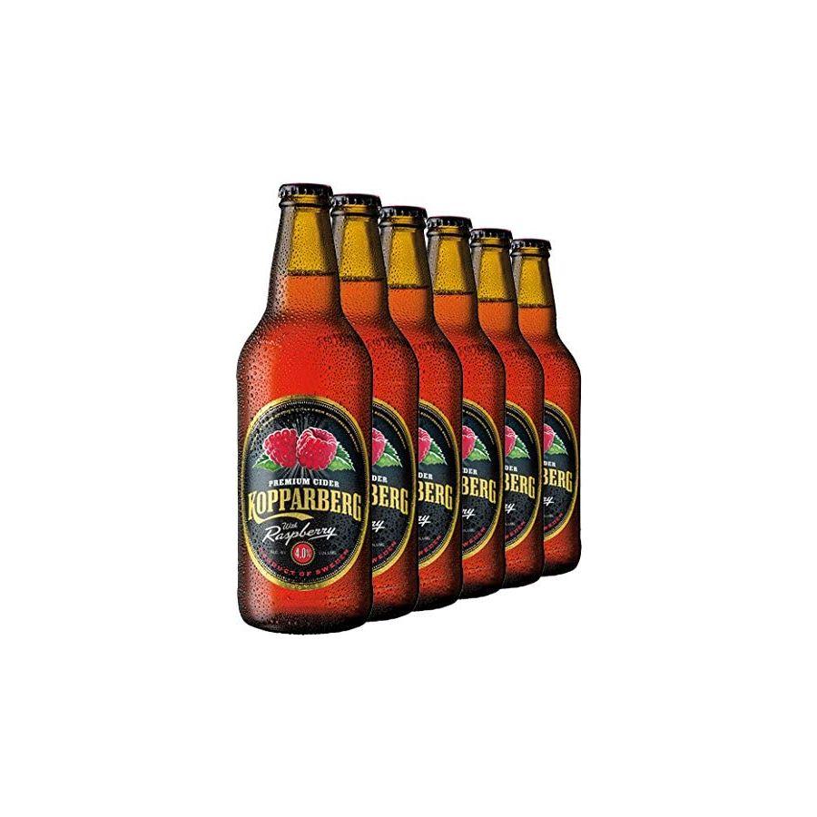 Kopparberg Raspberry Cider (6 X 500ml - 4%)