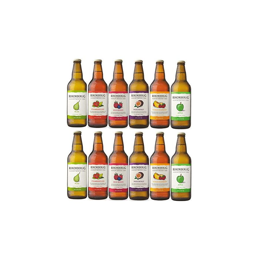 Rekorderlig Mixed Cider Case (12 x 500ml - 4.5%)