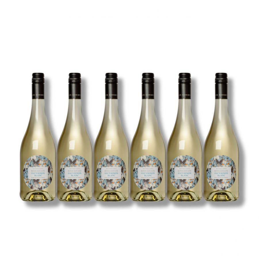 Roos Estate Sauvignon Blanc (6 x 750ml - 12.5%)