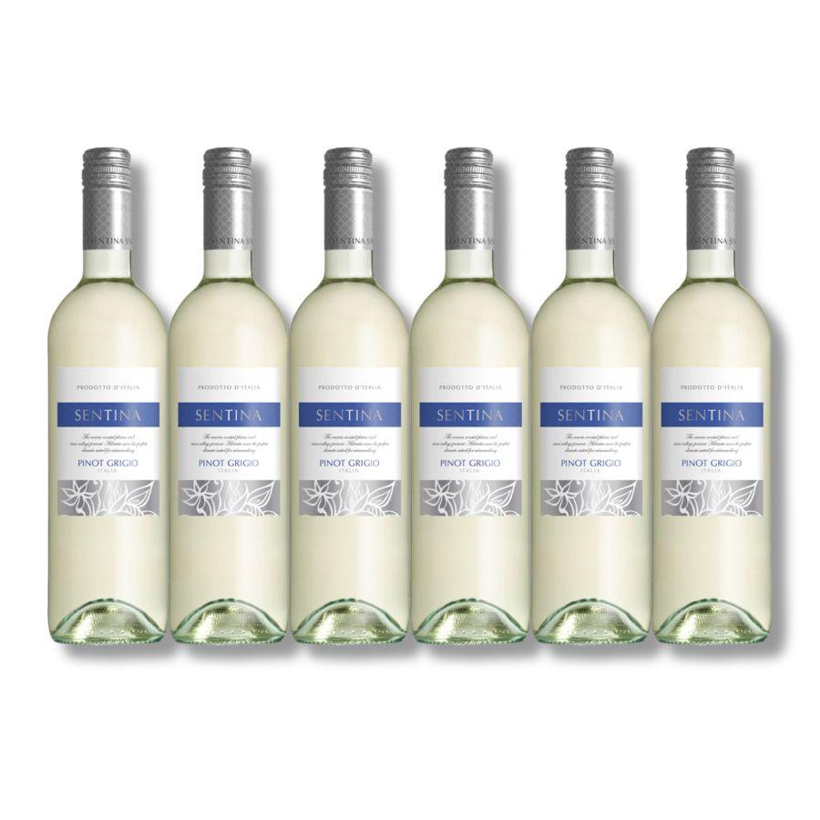 Sentina Pinot Grigio (6 x 750ml - 12%)