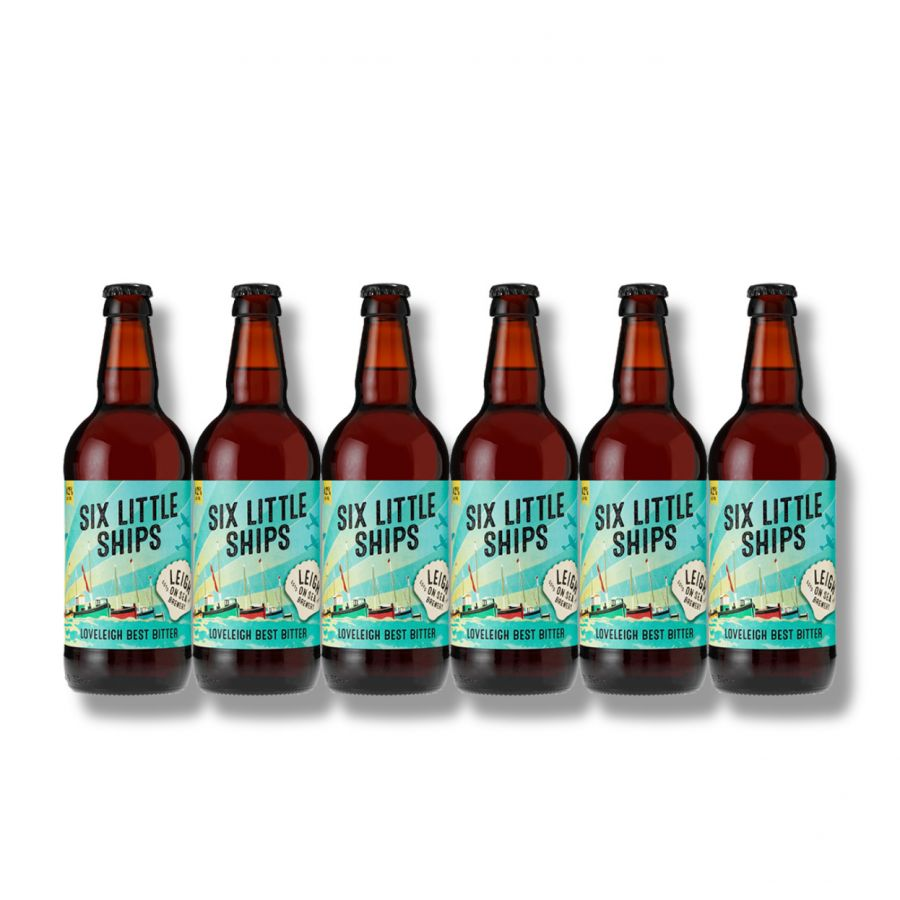 Six Little Ships Best Bitter by Leigh on Sea Brewery (6 x 500ml - 4%)
