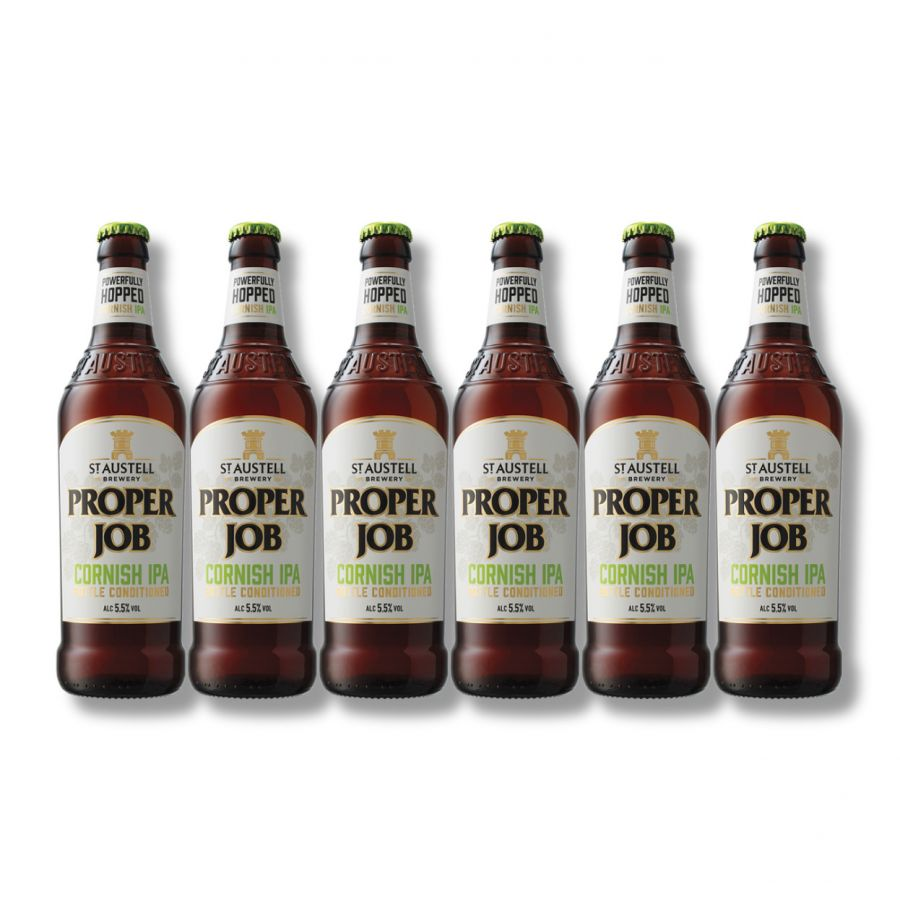 St Austell Proper Job IPA (6 x 500ml - 5.5%)