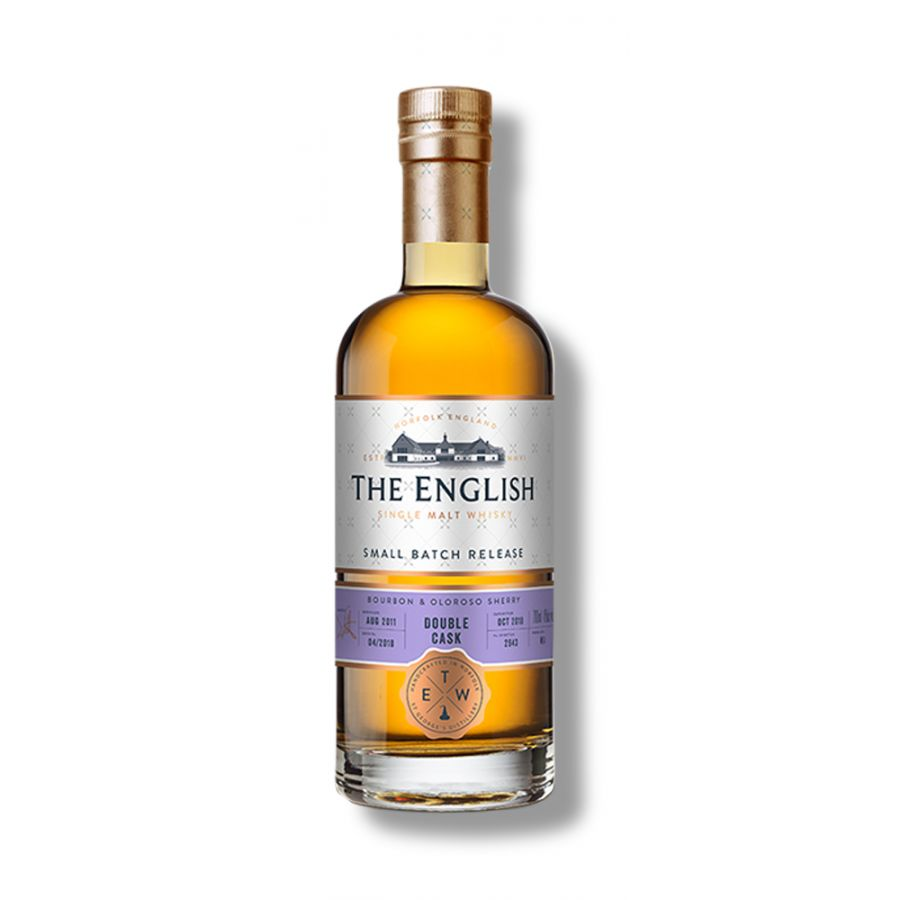 The English Whisky Co Small Batch - Double Cask (700ml - 46%)