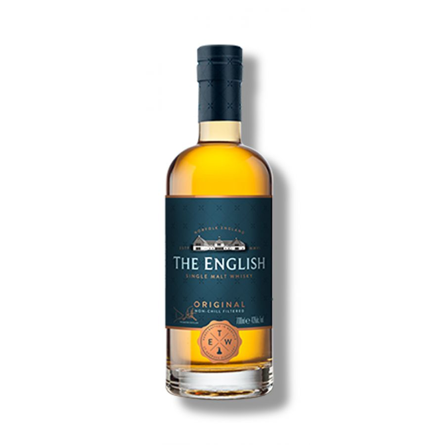 The English Whisky Co Original Single Malt Whisky (700ml - 43%)