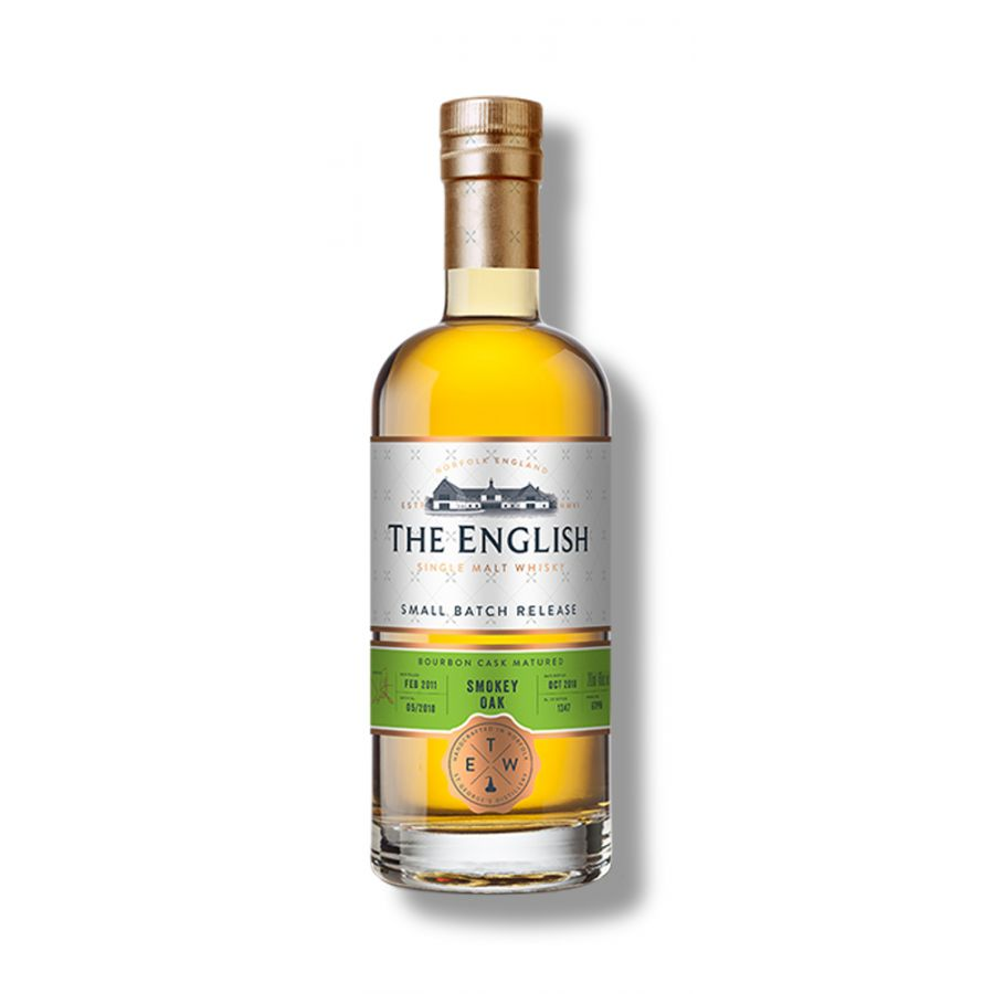 The English Whisky Co Small Batch Smokey Oak (700ml - 46%)