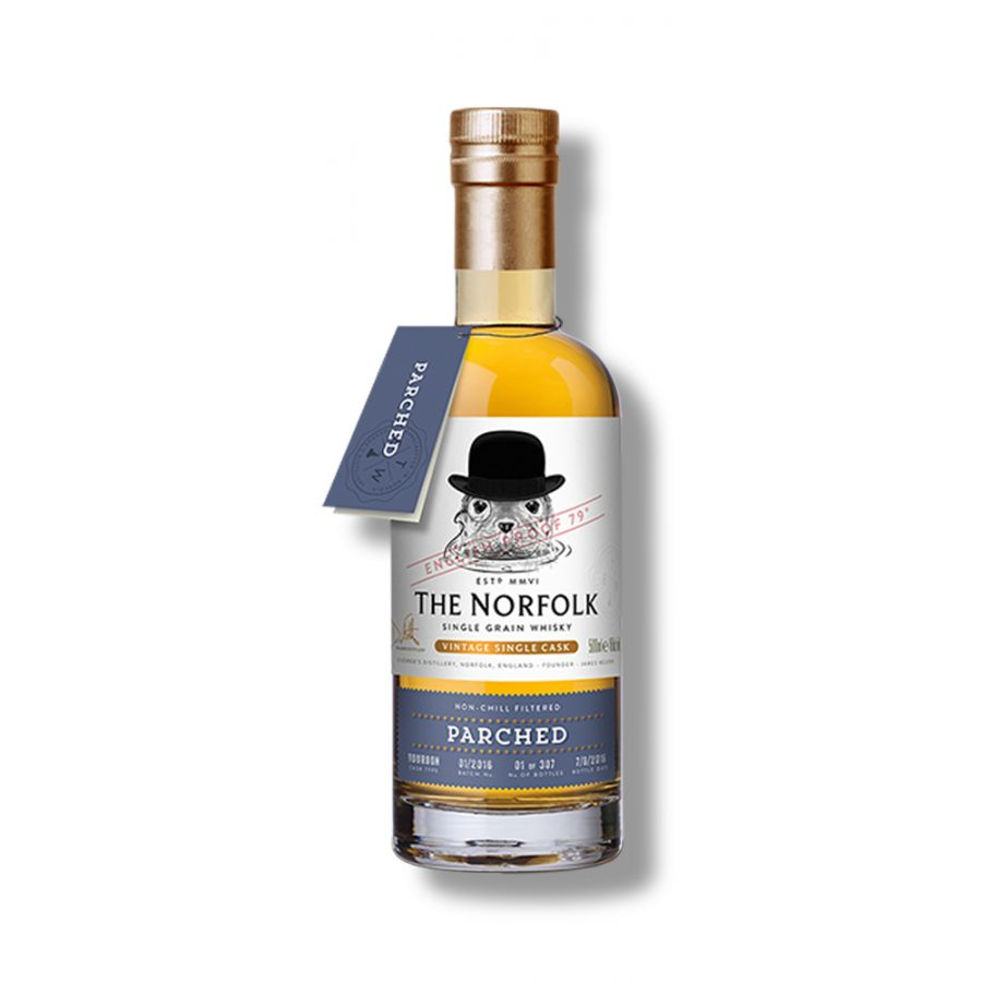 The Norfolk Parched Single Grain Whisky (500ml - 45%)