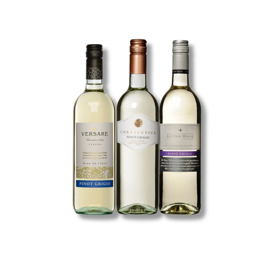 The Pinot Grigio 3 Bottle Treat Case ( 3 x 750ml - 12.5%)