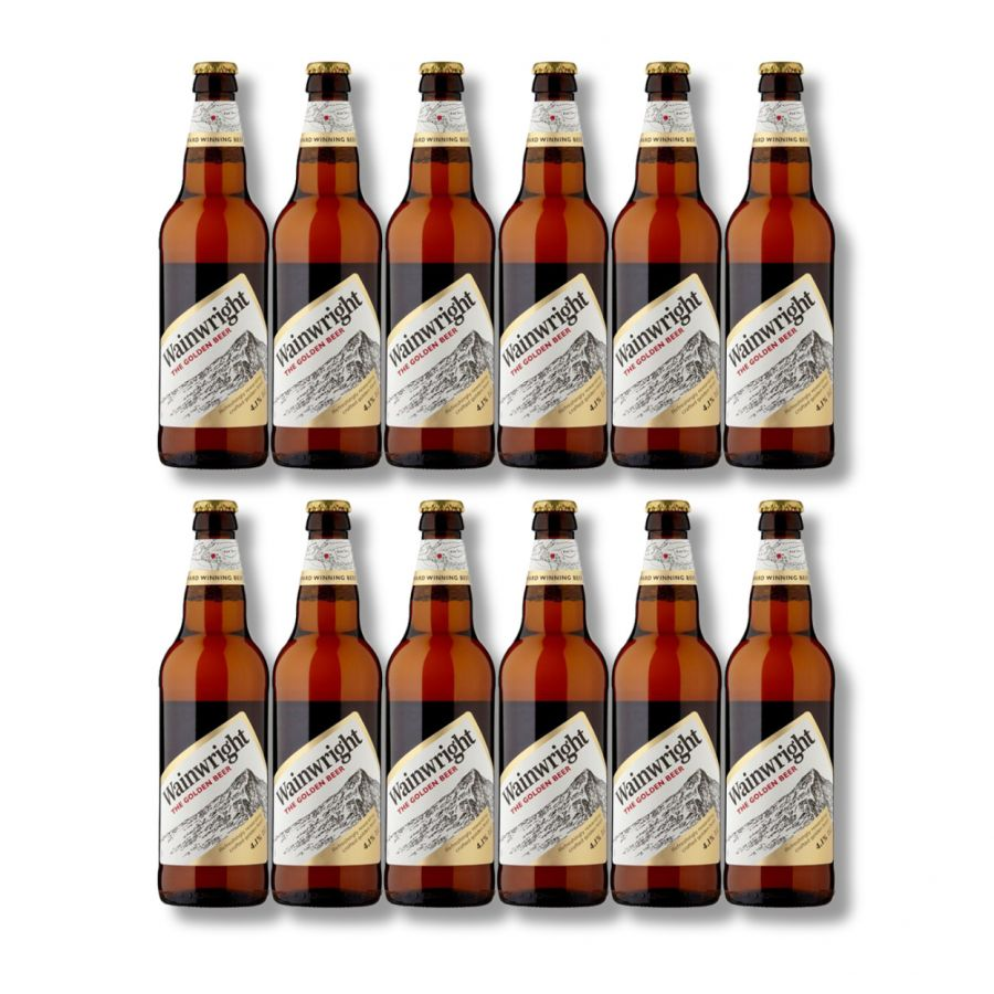 Thwaites Wainwright Golden Ale (12 x 500ml - 4.1%)