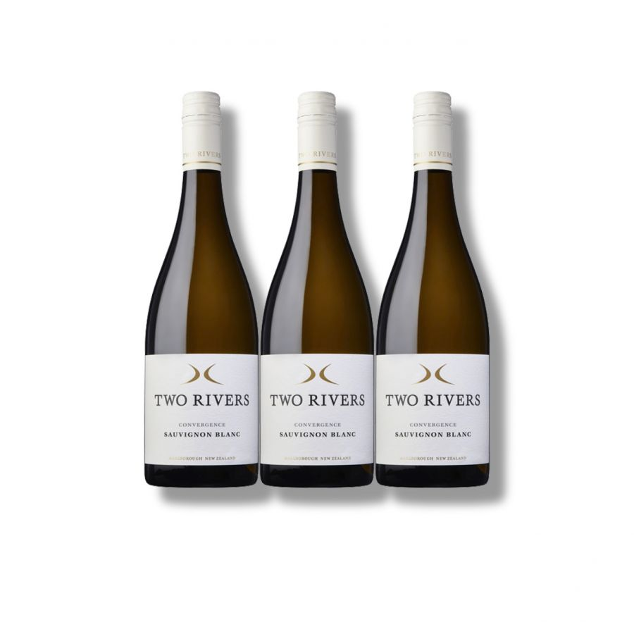 Two Rivers 'Convergence' Sauvignon Blanc (3 x 750ml - 13.5%)