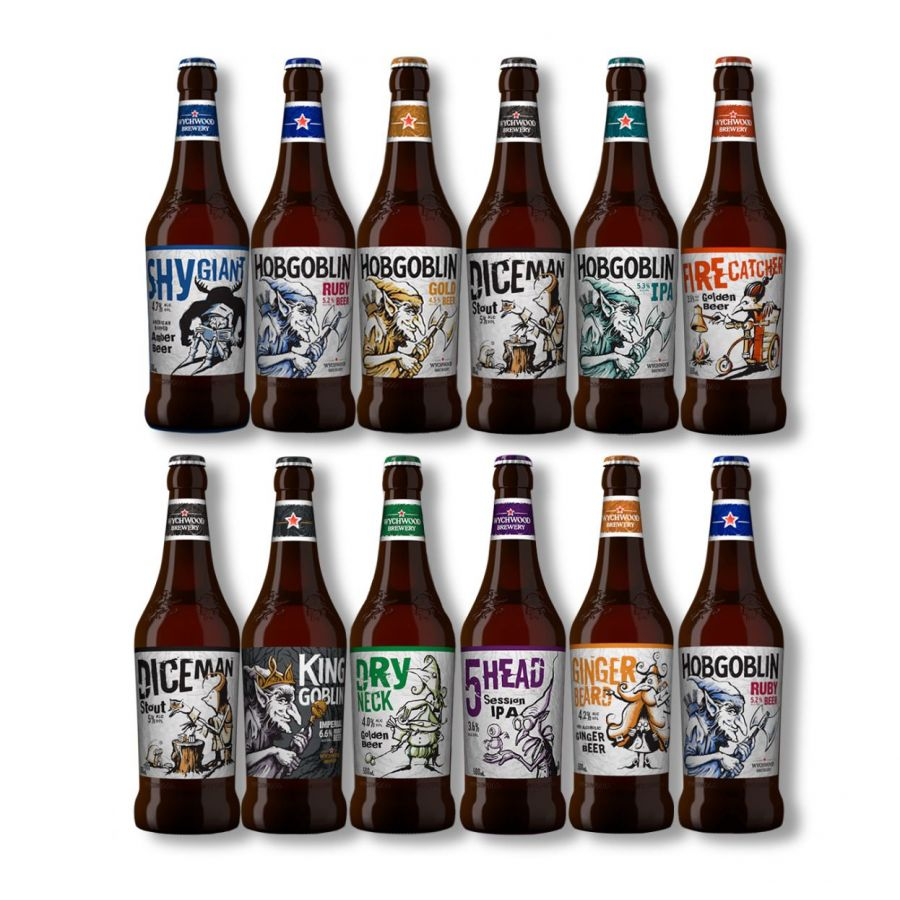 Wychwood Mixed Beer Case (12 x 500ml - 5%)