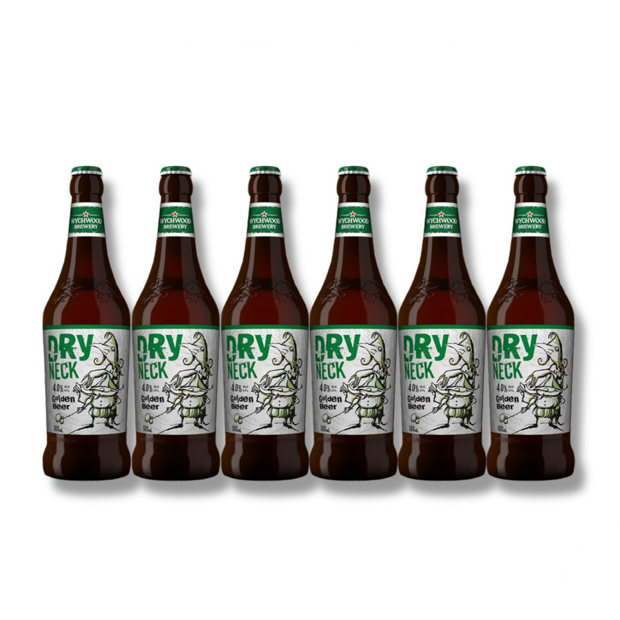 Wychwood Dry Neck Golden Beer (6 x 500ml - 4%)
