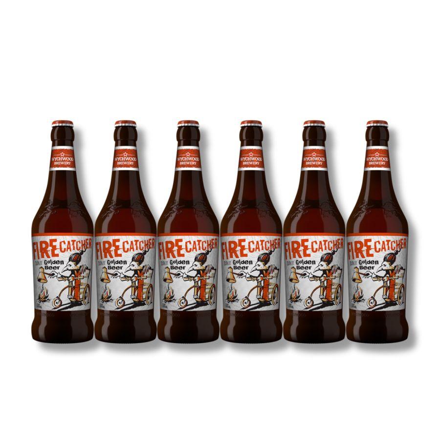Wychwood Firecatcher Golden Beer (6 x 500ml -3.5%)