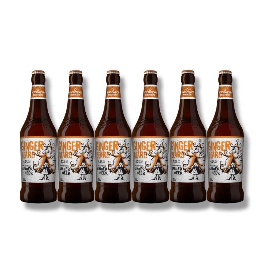 """Wychwood Ginger Beard """"Ginger Beer"""" (6 x 500ml - 4.2%)"""